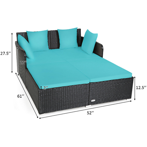 modern outdoor daybed