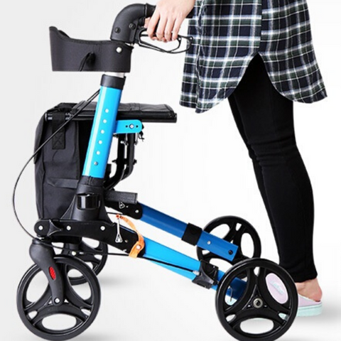 best rolling walker with seat