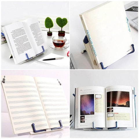 Portable Book Holder Desk Stand