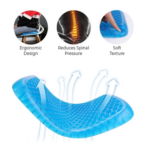 Gel Seat Cushion Chair Pad
