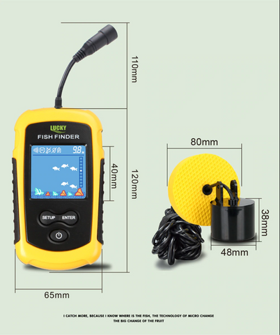 Portable GPS Fish Finder