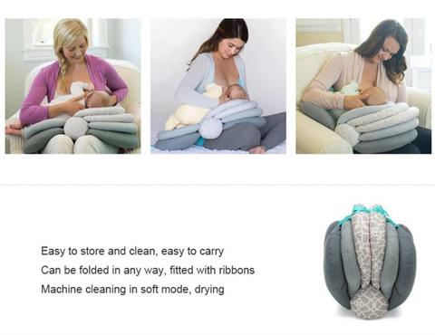 Baby Nursing Breastfeeding Pillow