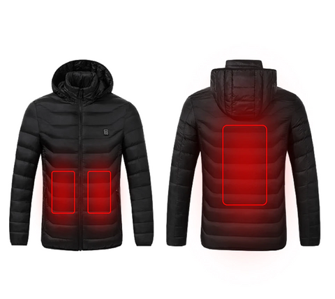 Battery Heated Electric Snap On Jacket
