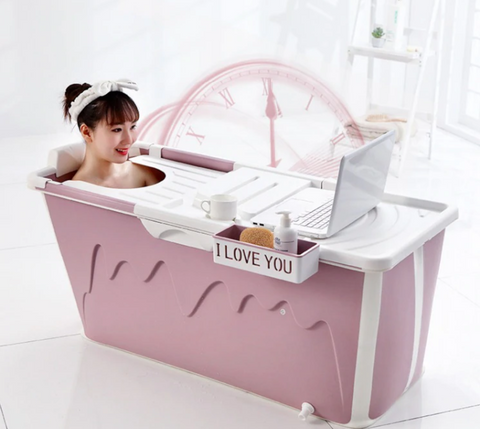 Portable Stand Alone Bathtub Foldable Spa