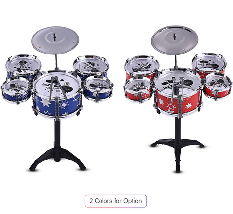 Kids Mini Toy Drum Set