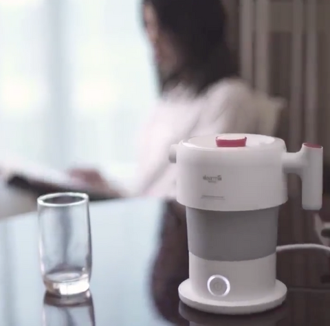 Small Electric Hot Water Kettle