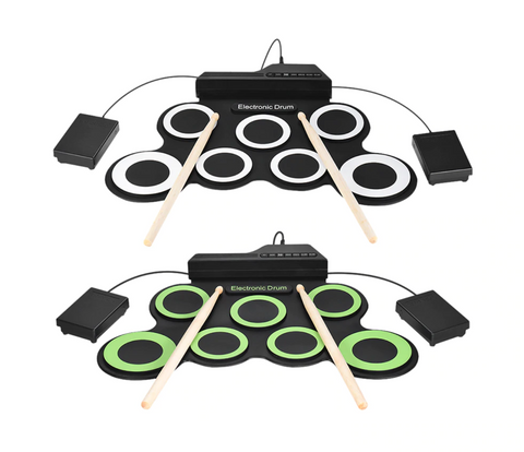 Portable Electric Drum Set Kit