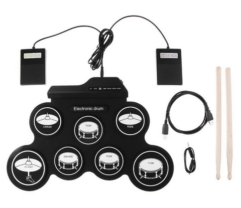 Digital Electronic Drum Pad Set