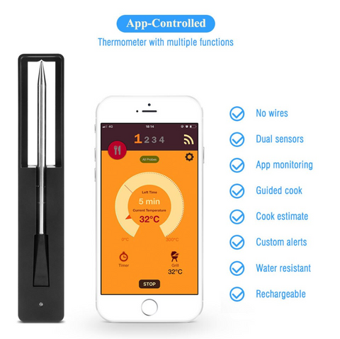 Bluetooth Meat BBQ Thermometer