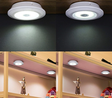 Wireless Under Cabinet LED Lighting Battery Operated