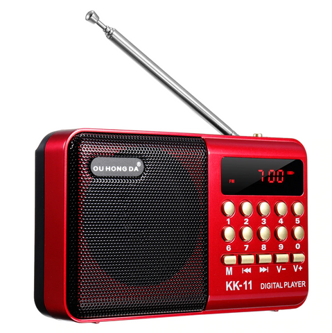 Small Portable AM FM Radio