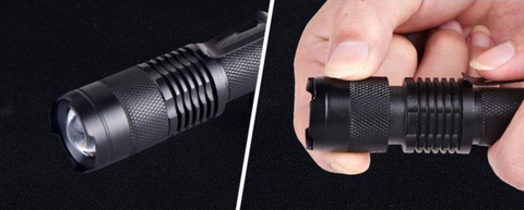 Tactical Flashlight Military Style