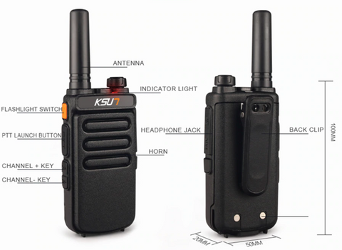 Waterproof Walkie Talkie Radio