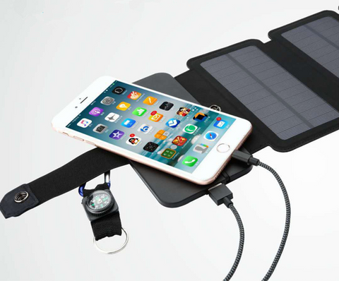 Portable Solar Powered Charger Panel Foldable