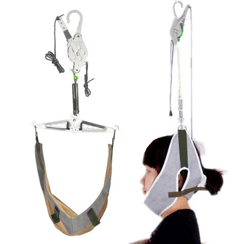 Cervical Neck Traction Stretcher Device