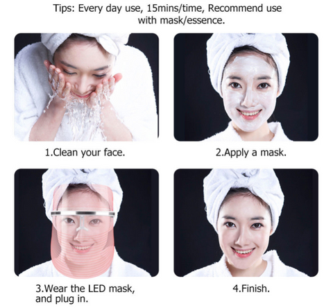 Best Light Therapy Acne Mask