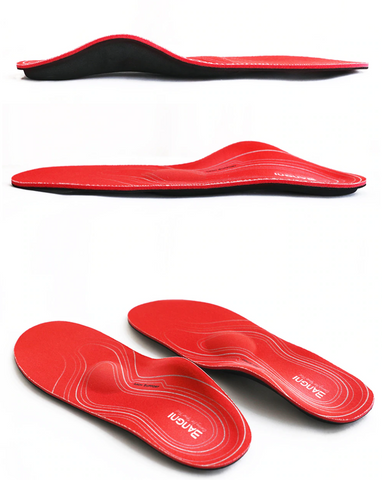 High Arch Support Inserts Flat Feet Shoe Insoles