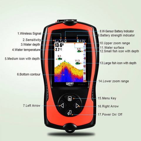 Wireless Sonar Portable GPS Fish Finder