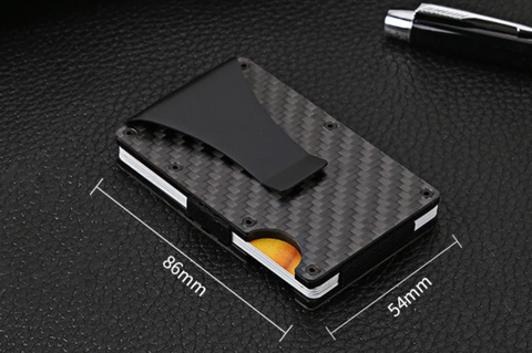 carbon fibre wallet