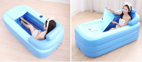 Portable Stand Alone Inflatable Bathtub For Adults