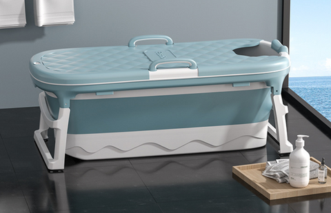 Collapsible Stand Alone Bathtub For Adults