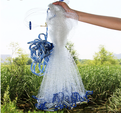 Premium Cast Fishing Throw Net