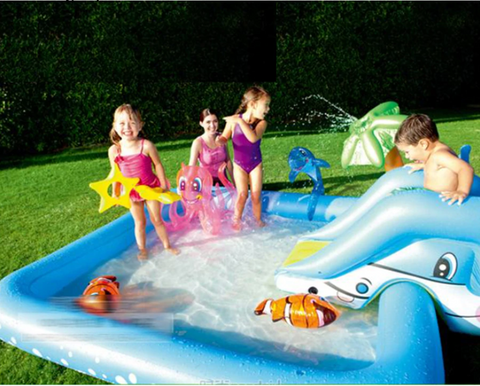 best blow up water slide
