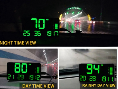 best car heads up display