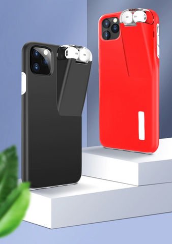 iphone case with airpod charger