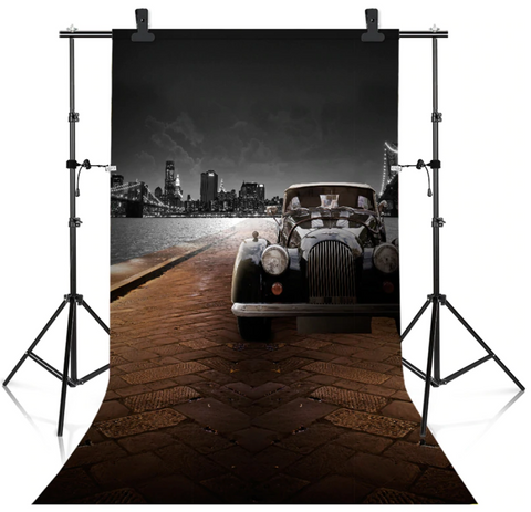 Heavy Duty Photo Backdrop Adjustable Stand Frame