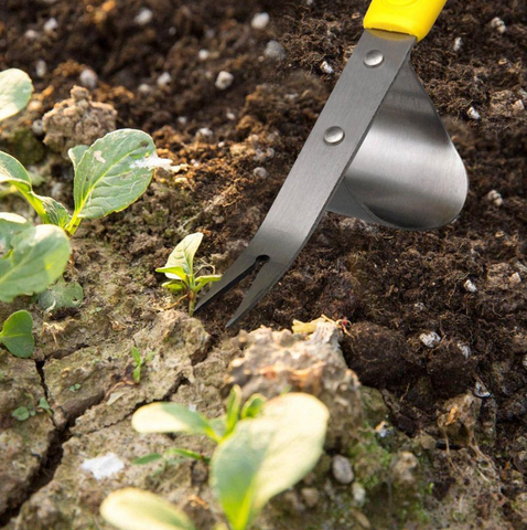 Premium Garden Weed Removal Tool Stainless Steel