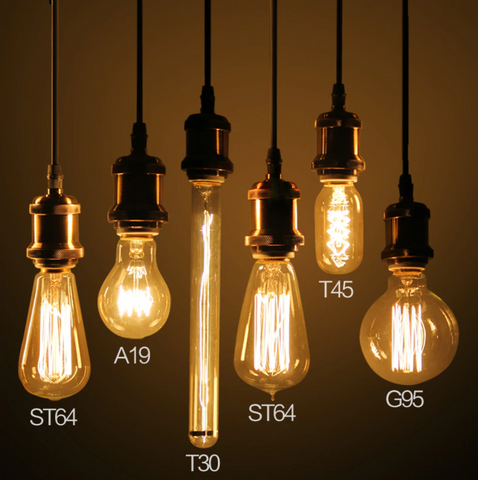 Best LED vintage antique bulbs thomas edison