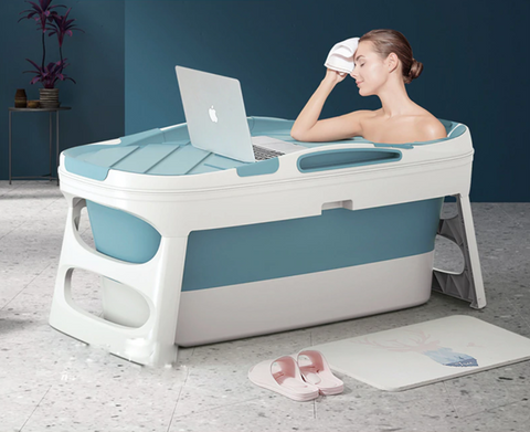 portable folding full size bath tub