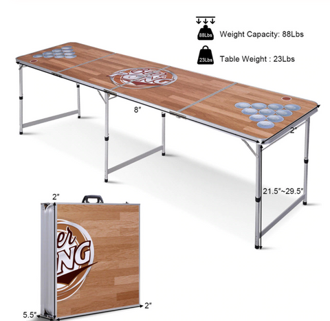 cheap beer pong table