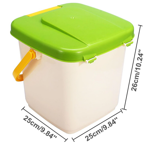 best trash can compost