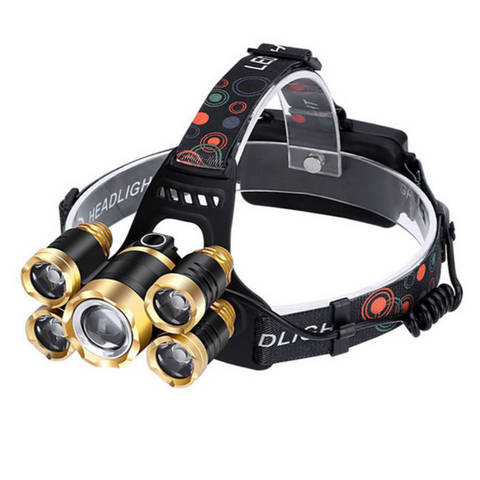 Rechargeable LED Headlamp Light