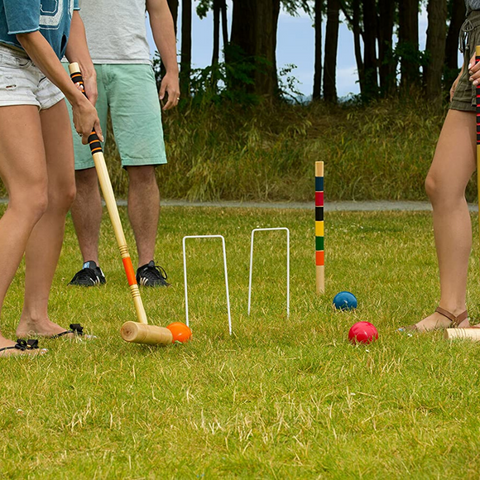 game of croquet set