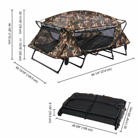 camping double cot tent