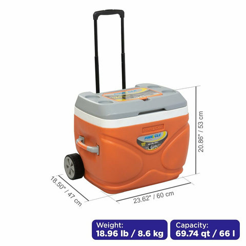 big cooler with wheels