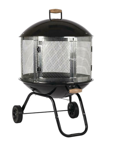 small portable outdoor fire pit