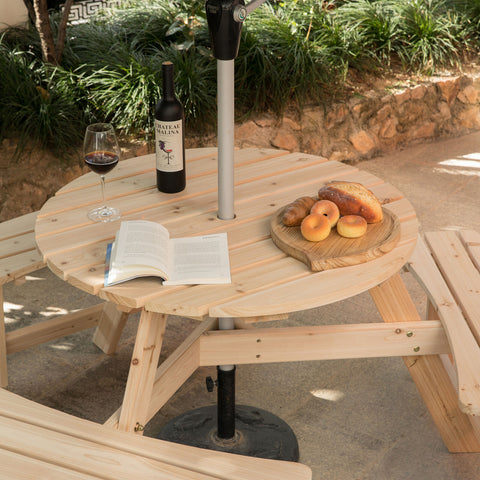 best wooden picnic table