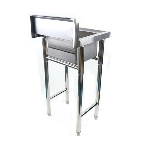 stainless steel laundry sink