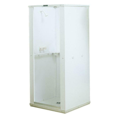 stand up freestanding shower stall kit