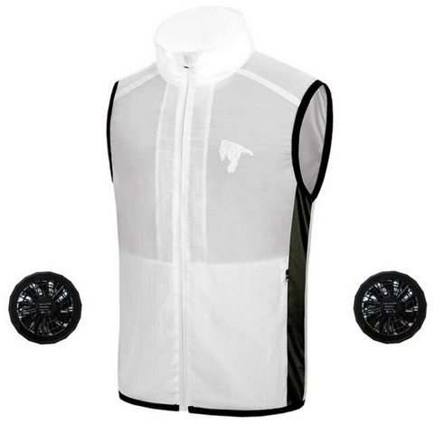 best mens' air conditioned cooling vest