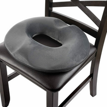 Load image into Gallery viewer, Ultra Soft Hemorrhoid Tailbone Donut Seat Cushion Pillow