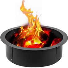 Load image into Gallery viewer, Heavy Duty Steel Fire Pit Liner Ring Insert | Zincera