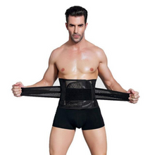 Load image into Gallery viewer, Sweat Belt Waist Trainer For Men | Zincera