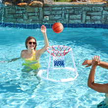 Load image into Gallery viewer, Premium Floating Swimming Pool Basketball Hoop | Zincera