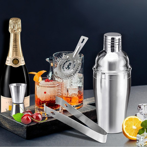 All In One Cocktail Shaker Bartender Kit 10 pcs | Zincera