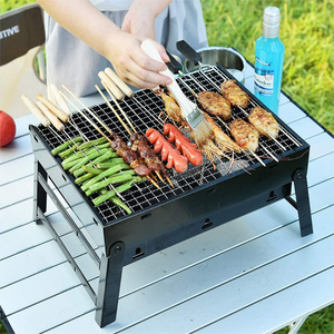 Premium Portable Small Tabletop Charcoal Grill | Zincera